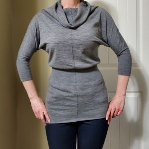 Wilfred grey organic merino wool sweater